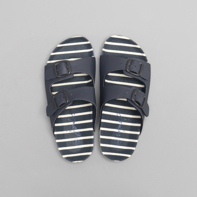 ff0c9f8fa720 Joules EXPLORER Boys Mule Sandals French Navy