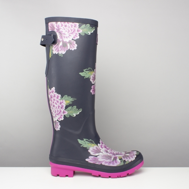 f7ffed51037a59 Joules WELLY PRINT Tall Wellington Boots Navy