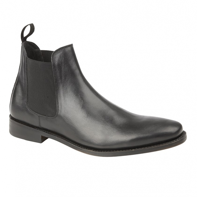 77b413fffad TED Mens Leather Chelsea Boots Black