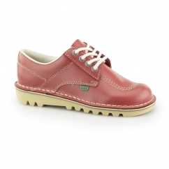KICK LO Ladies Leather Shoes Red