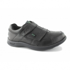 SEASAN STRAP Boys Leather Shoes Black