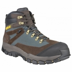 KNIGHTSEN Metal Safety Boot Espresso Brown