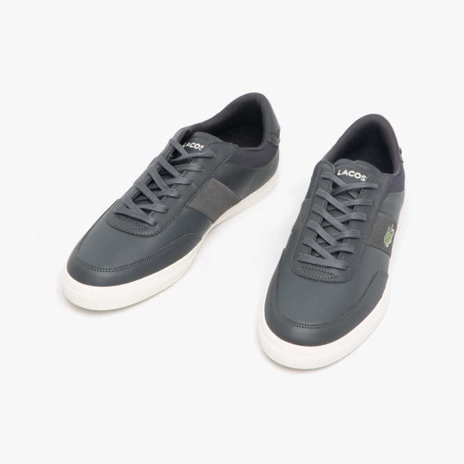 factory outlet many styles latest design Lacoste COURT-MASTER 319 1 Mens Leather Trainers Grey/White | Shuperb