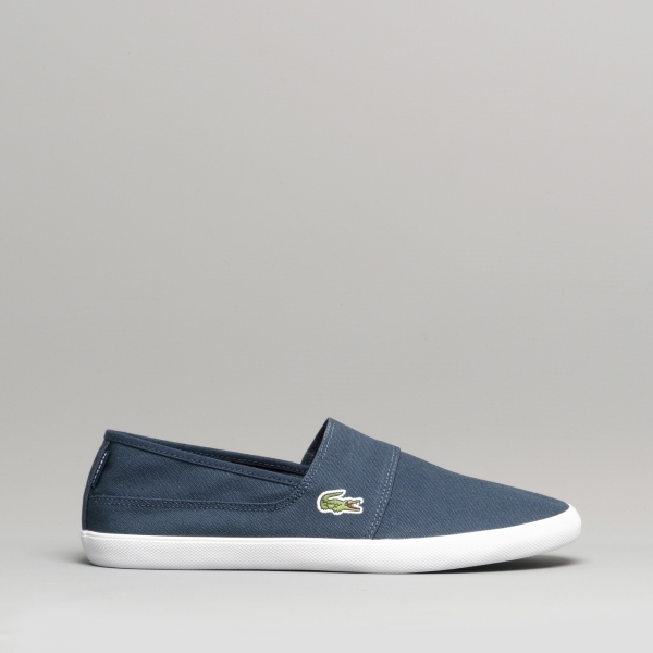 d76be5ac4635e Lacoste MARICE BL 2 Mens Canvas Plimsoll Casual Shoes Navy