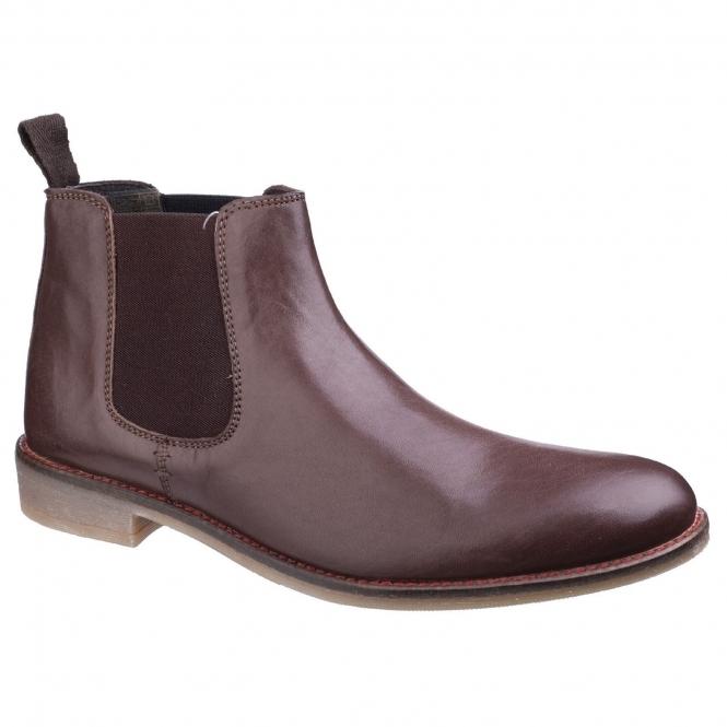 lambretta fleet mens chelsea boots brown buy at