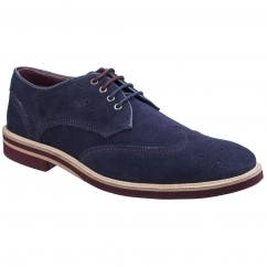 Lambretta HENRY Mens Lace Up Brogues Navy