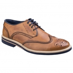Lambretta HENRY Mens Lace Up Brogues Tan