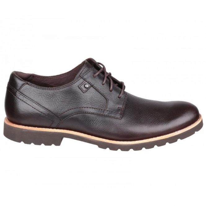 Rockport LEDGE HILL PLAIN TOE Mens Leather Shoes Brown