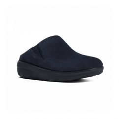 LOAFF™ SUEDE Ladies Suede Mule Clogs Supernavy