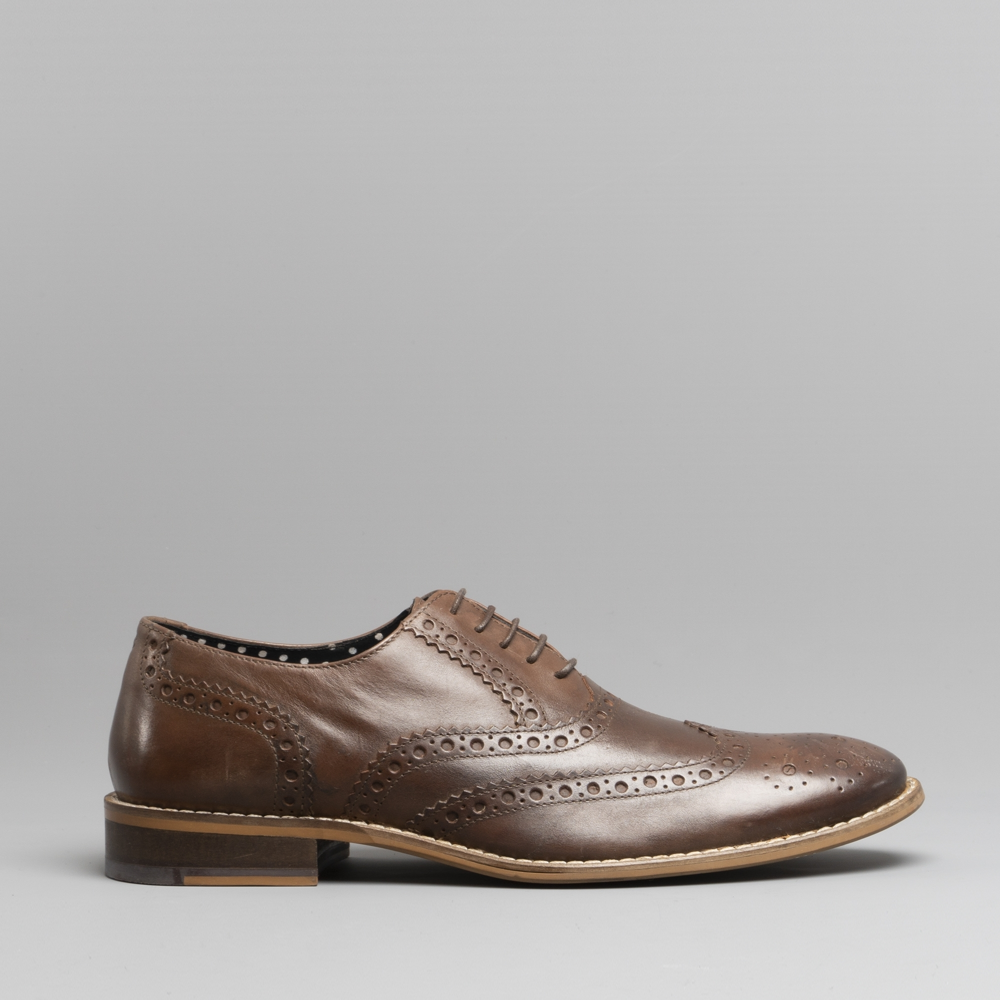 London Brogues GATSBY Mens Leather