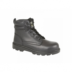 M133A Mens S1 SRC Metal-Free Safety Boots Black