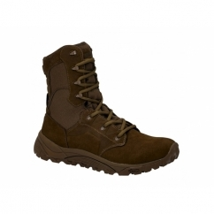 MACH 2 8.0 Mens Non-Safety Military Boots Brown