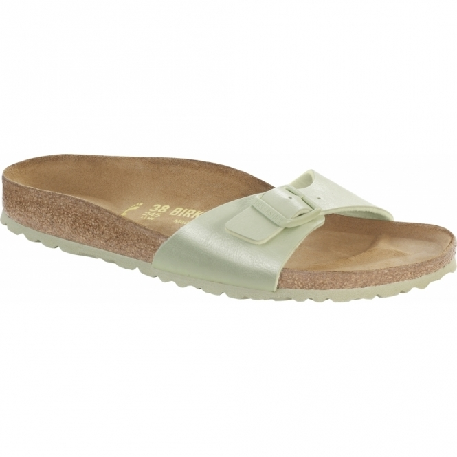 Birkenstock MADRID Ladies Buckle Sandals Graceful Mint