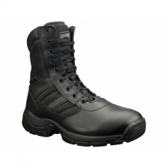PANTHER 8.0 SZ Unisex Non-Safety Side Zip Combat Boots Black