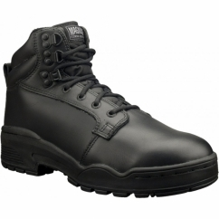 PATROL CEN Unisex Non-Safety Leather Ankle Boots Black