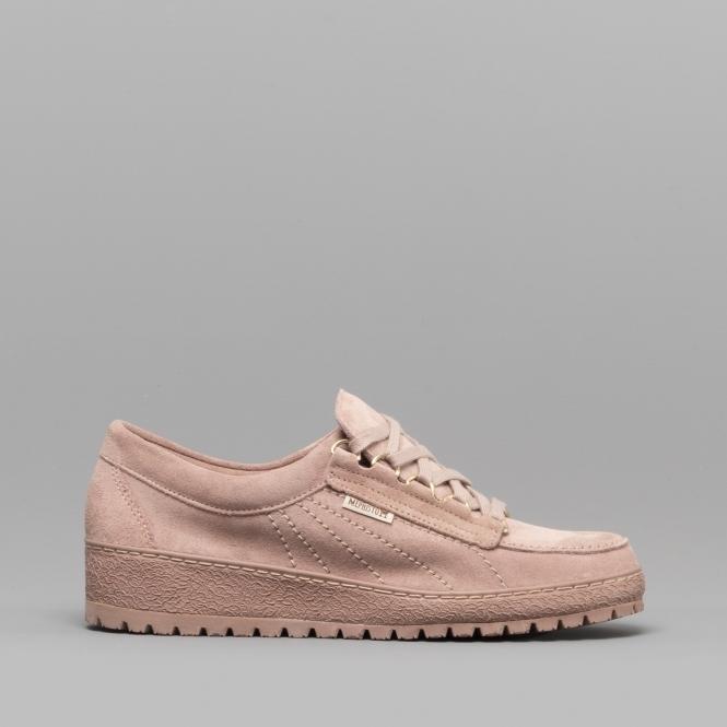 eb1786915d2c3 Mephisto VELOURLADY Ladies Suede Originals Shoes Old Pink   Shuperb