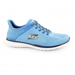 Skechers MICROBURST-SUPERSONIC Ladies Sports Trainers Blue