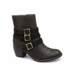 MIMI RUSTIQUE Ladies Waterproof Zip Chelsea Boots Brown