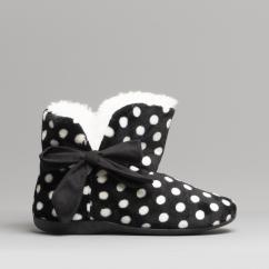b9f63107d1b Mirak CLEREMONT Ladies Boot Slippers Black