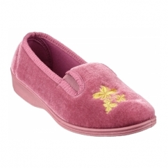 HETTY Ladies Full Slippers Pink