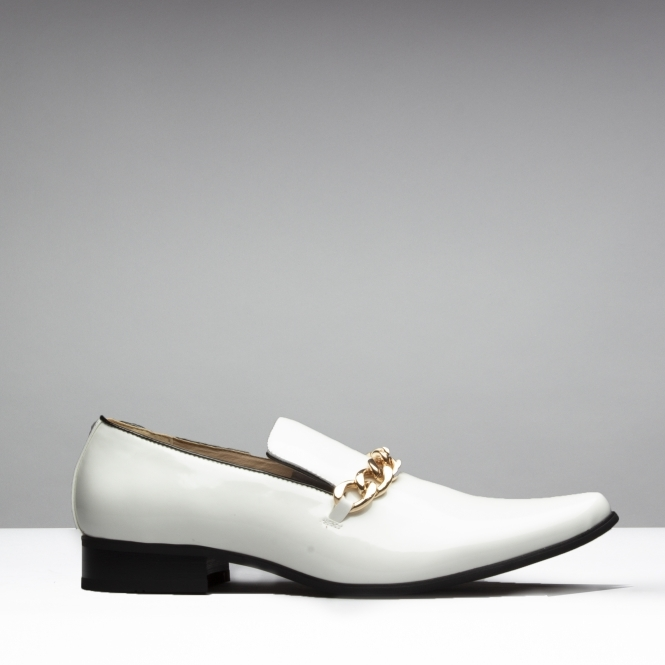 Mister Carlo SOVEREIGN Mens Faux Patent
