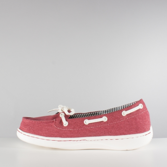Dude Moka Ladies Shoes Red (40) ZbHS7jHme3
