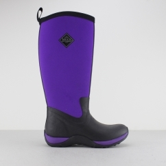 Muck Boots ARCTIC ADVENTURE Ladies Wellingtons Black/Purple