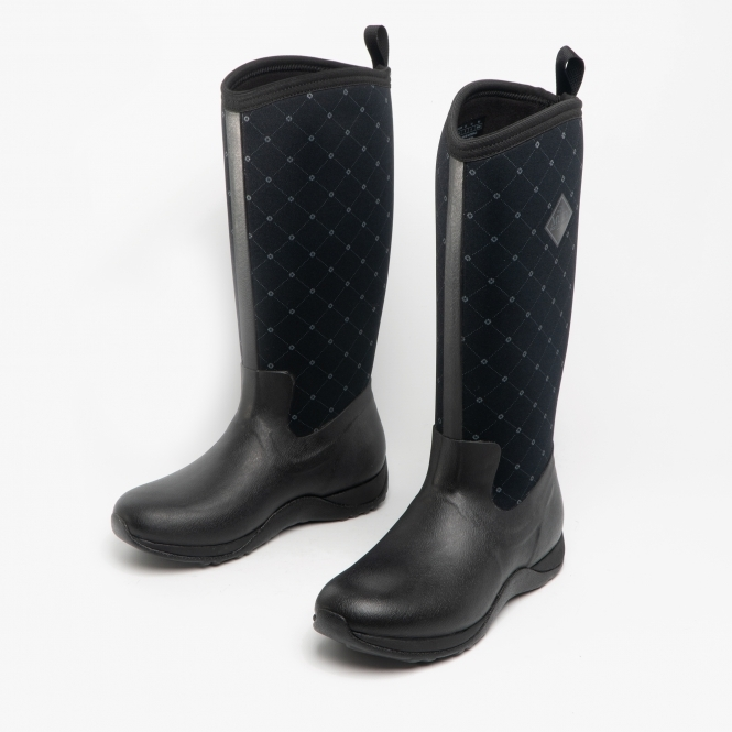 Muck Boots ARCTIC ADVENTURE Ladies Waterproof Rubber Wellington Boots Quilt