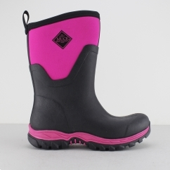 ARCTIC SPORT MID Ladies Wellington Boots Black/Pink