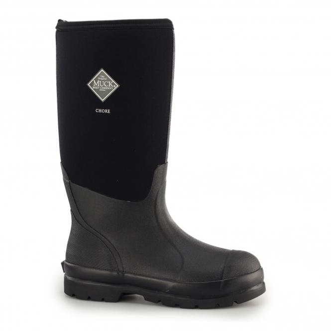 bcb0c147093 CHORE HI Unisex Rubber Wellington Boots Black