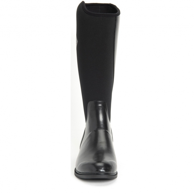 Muck Boots DERBY Ladies Womens Real Robust Rubber Outdoor Wellington Boots Black