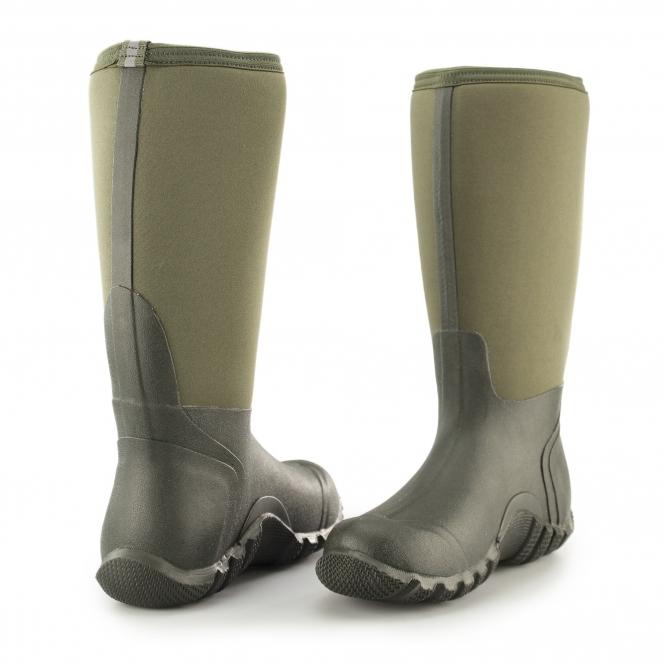 Muck® Boots EDGEWATER HI Unisex WP Wellington Boots Moss| Shuperb