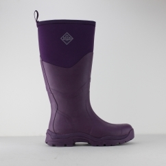 GRETA II MAX Ladies Tall Wellington Boots Purple