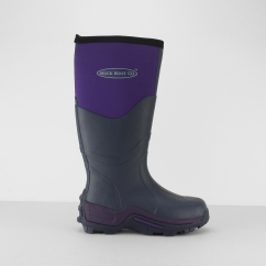 Muck Boots GRETA Ladies Waterproof Wellington Boots Violet