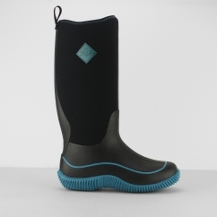 Muck Boots HALE Ladies Waterproof Wellington Boots Black/Blue