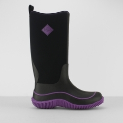 Muck Boots HALE Ladies Waterproof Wellingtons Black/Purple