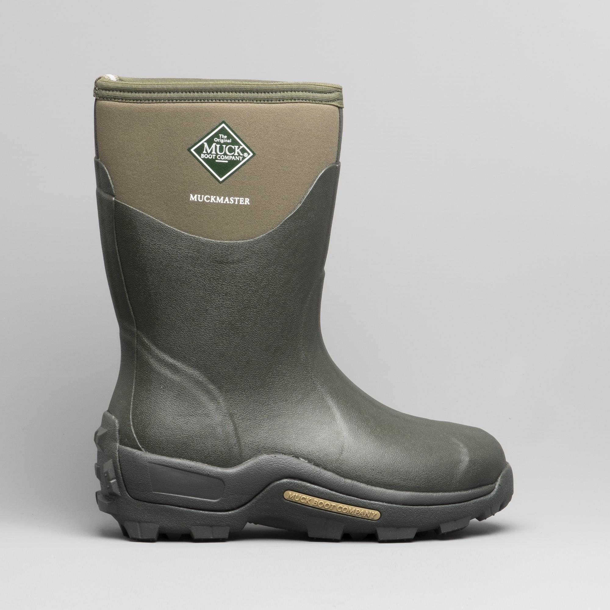 843ac14e562 Muck Boots MUCKMASTER MID Unisex Wellington Boots Moss