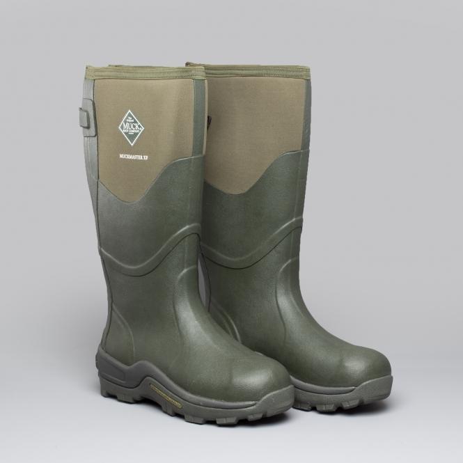 2b76641f7e7 MUCKMASTER XF Mens Wellington Boots Moss Green