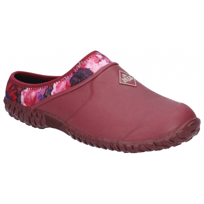 Muck Boots MUCKSTER II CLOG Ladies Waterproof Stylish Rubber Garden Shoes Red