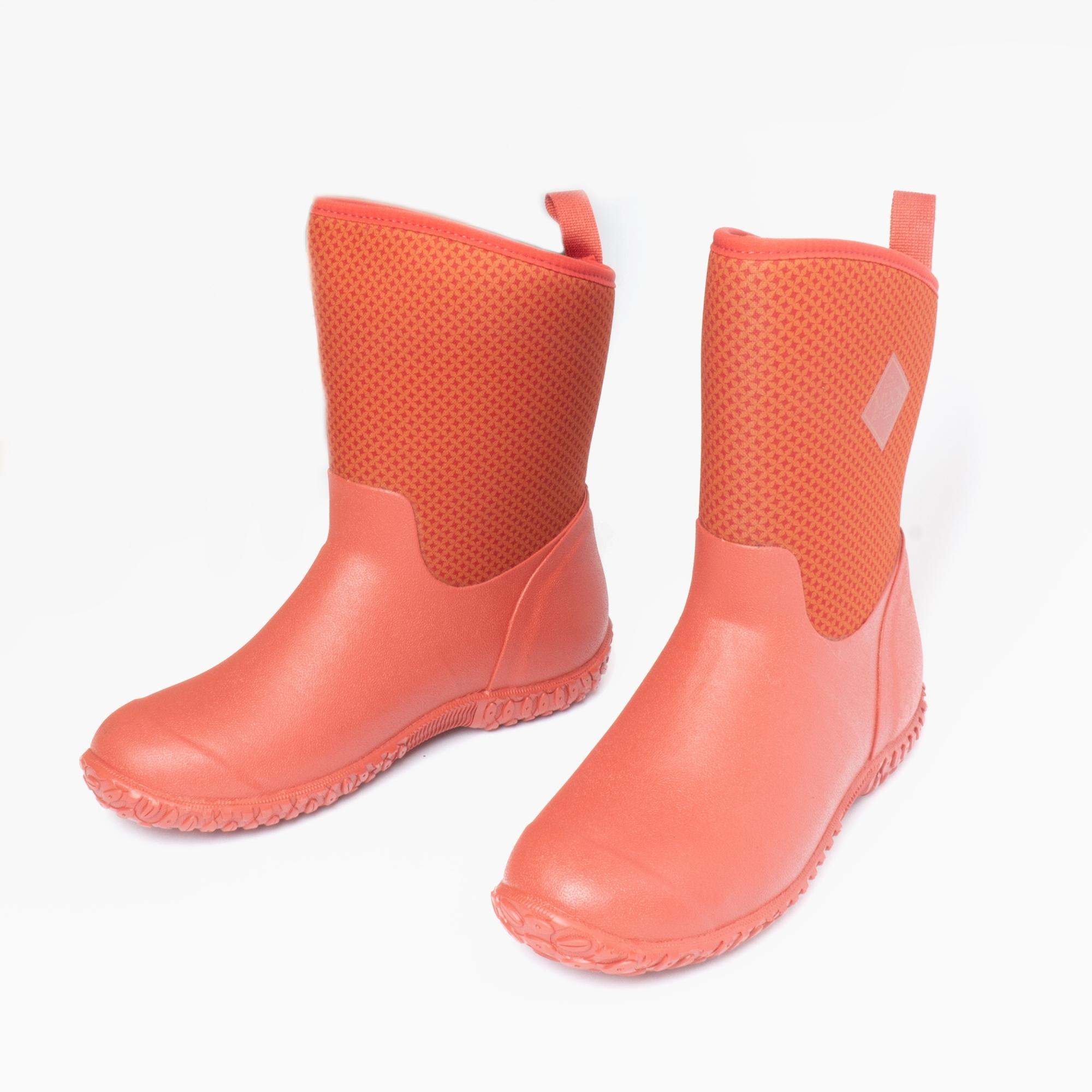 Muck Boots RHS MUCKSTER II SHORT Ladies Womens Neoprene Wellington Boots Red
