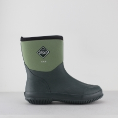 Muck Boots SCRUB Unisex Gardening Outdoor Slip On Boots Green