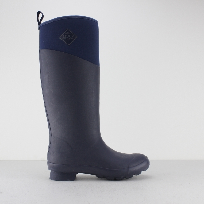 TREMONT Ladies Tall Wellington Boots Eclipse Navy