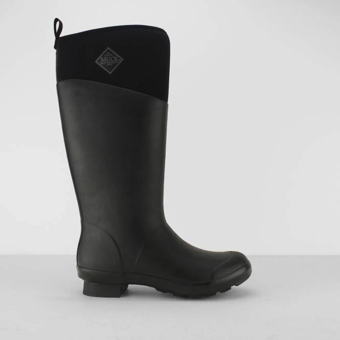 Muck Boots TREMONT Ladies Tall Wellington Boots Matte Black