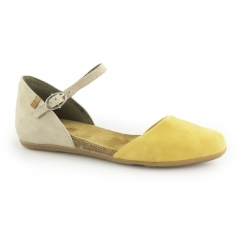 ND54 Ladies Leather Sandals Piedra/Curry