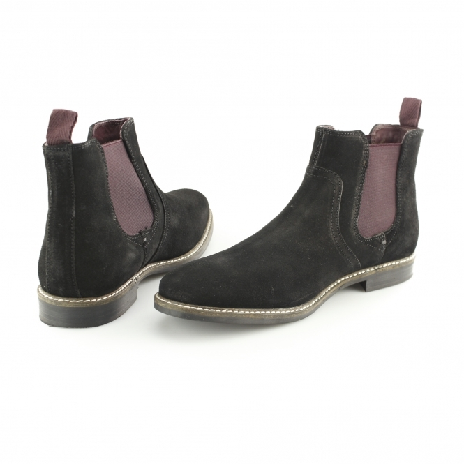 Chelsea Boots Black Suede - Black Redtape gyAY23mB