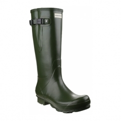NORRIS ADJUSTABLE Unisex Non-Safety Wellington Boots Green
