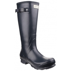 NORRIS FIELD Unisex Non-Safety Wellington Boots Navy
