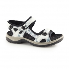 OFFROAD Ladies Leather Touch Fasten Sandals Biscaya Camo