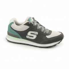 OG 82 - FLYNN Ladies Retro Sports Trainers Grey/Mint