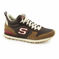 OG 85 BEULLER Mens Sports Fitness Trainers Brown/Chesnut